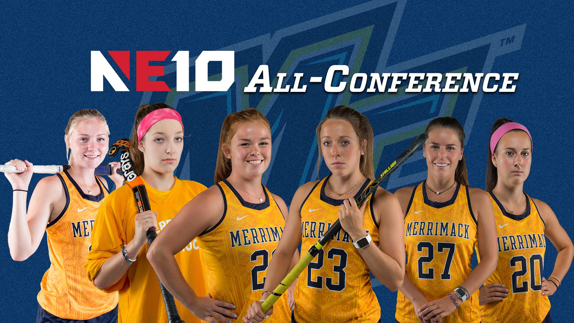 Field hockey lands six on all conference teams merrimack college field hockey lands six on all conference teams sciox Images